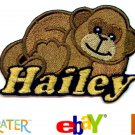 Custom Personalized Iron-on Patch - Monkey