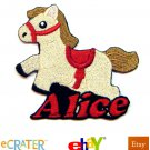 Custom Personalized Iron-on Patch -Horse / Pony
