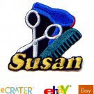 Custom Personalized Iron-on Patch - Hairstylist