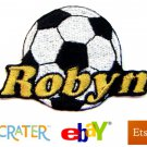 Custom Personalized Iron-on Patch - Soccer