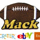 Custom Personalized Iron-on Patch - Football