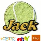 Custom Personalized Iron-on Patch - Tennis