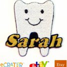 Custom Personalized Iron-on Patch - Tooth Dentist