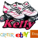 Custom Personalized Iron-on Patch - Roller Skates