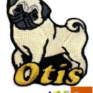 Custom Personalized Iron-on Patch - Pug