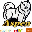 Custom Personalized Iron-on Patch - Samoyed