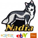 Custom Personalized Iron-on Patch - Siberian Husky