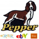 Custom Personalized Iron-on Patch - Welsh Springer Spaniel