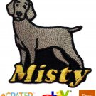 Custom Personalized Iron-on Patch - Weimaraner