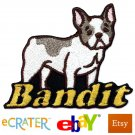 Custom Personalized Iron-on Patch - French Bulldog