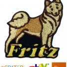 Custom Personalized Iron-on Patch - Finnish Spitz