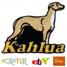 Custom Personalized Iron-on Patch - Whippet