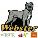 Custom Personalized Iron-on Patch - Cane Corso