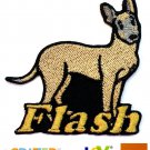 Custom Personalized Iron-on Patch - Belgian Malinois