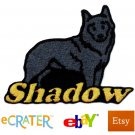 Custom Personalized Iron-on Patch - Schipperke