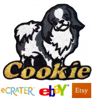 Custom Personalized Iron-on Patch - Japanese Chin