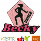 Custom Personalized Iron-on Patch - Dance
