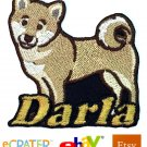 Custom Personalized Iron-on Patch - Shiba Inu