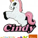 Custom Personalized Iron-on Patch - Unicorn