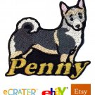 Custom Personalized Iron-on Patch - Swedish Vallhund