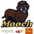 Custom Personalized Iron-on Patch - Wirehaired Dachshund