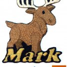 Custom Personalized Iron-on Patch - Moose