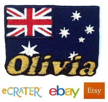Custom Personalized Iron-on Patch - Australia Flag