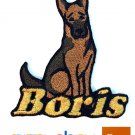 Custom Personalized Iron-on Patch - German Shepherd