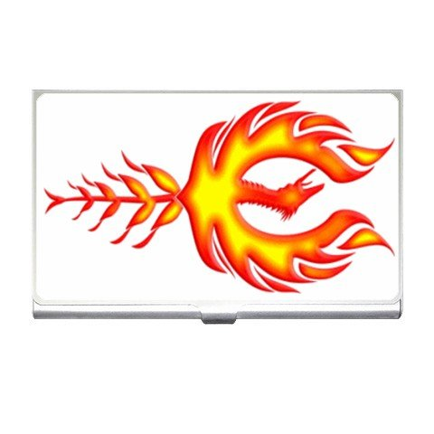 Phoenix Flames Business Card Holder Case Office Gift 17055941