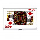 KING OF DIAMONDS Business Card Holder Case Office Gift 17055971