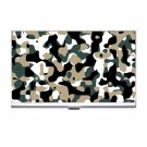 Camoflage Business Card Holder Case Office Gift 17056069