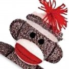 SOCK MONKEY  Bathroom Shower Curtain BSEC