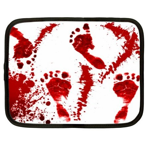 BLOODY footprint netbook laptop 15 inch case cover sleeve XXL 26754270 BSEC