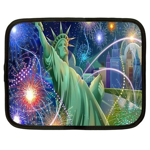 STATUE OF LIBERTY netbook laptop 15 inch case cover sleeve XXL 26754659 BSEC