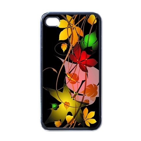 FALL LEAVES ABSTRACT Apple iPhone 4 Case Cover #AN-28147694