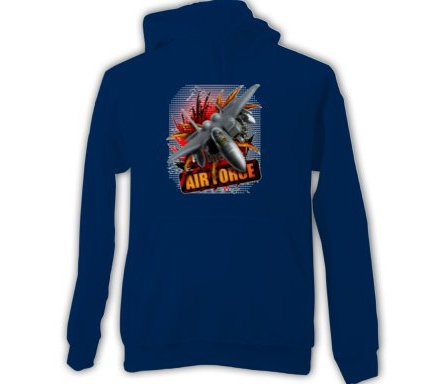 Airforce Adult HOODIE SWEATSHIRT  sz  XLarge #CT