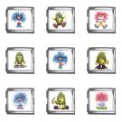 Funny Monsters Italian Charms Starter Bracelet Set of 9 pack MEGA Size 18mm 26865675