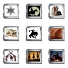 Western Designs Italian Charms Starter Bracelet Set of 9 pack MEGA Size 18mm 26865680