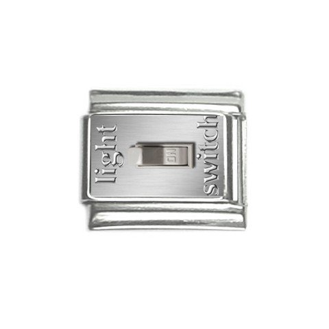 Light Switch Italian Charms Single 9mm 29147736