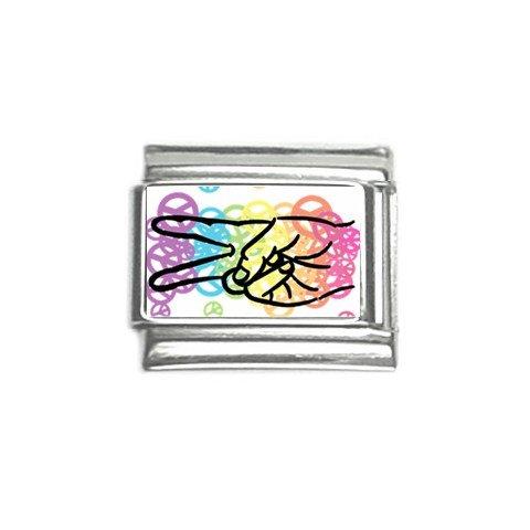 Colorful Peace Italian Charms Single 9mm 29147743
