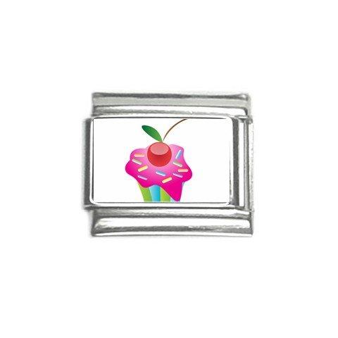 Colorful cupcake Italian Charms Single 9mm 29147744
