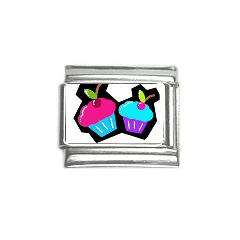 Colorful Cupcakes Italian Charms Single 9mm 29147745