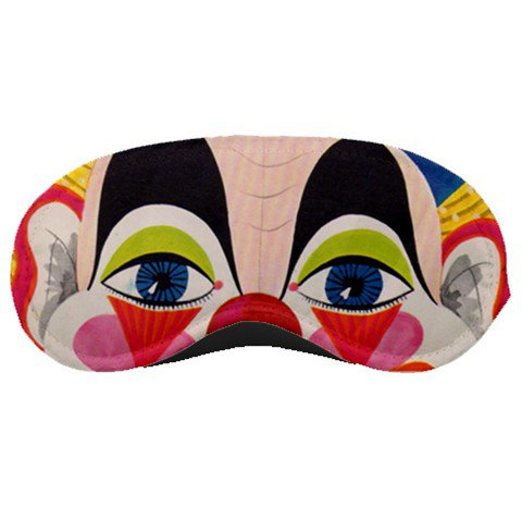Silly CLOWN EYES SLEEPING MASK Comfortable Polyester foam at BlueSkies 31640385