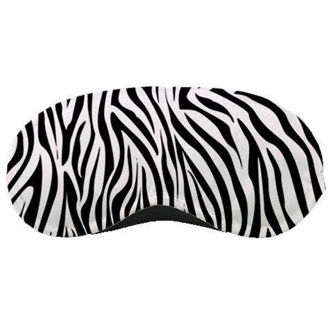 Black & Whie Zebra SLEEPING MASK Comfortable Polyester foam at BlueSkies 36554918