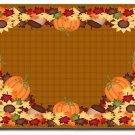 Thanksgiving Harvest Design Indoor Room Doormat Mats Rug for Kitchen