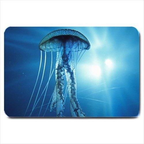 Jellyfish Design Indoor Doormat Mats Rug for the Bedroom or Bathroom