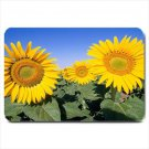 Bright Yellow Sunflowers Design Indoor Doormat Mats Rug for Bedroom or Bathroom