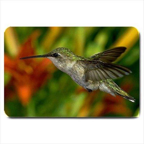 Hummingbird Design Indoor Doormat Mats Rug for the Bedroom or Bathroom