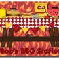 PERSONALIZED BBQ Picnic Design Doormat Mats Rug for Patio or Kitchen