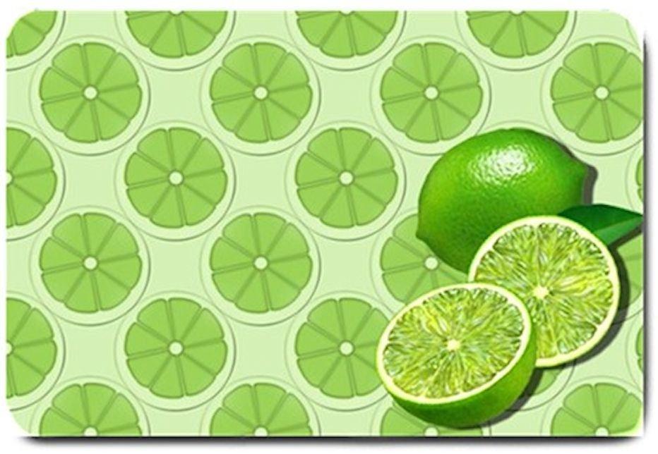 Green Limes Design Indoor Room Doormat Mats Rug for the Kitchen